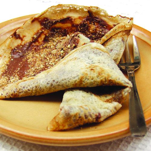Crêpes Old nutella
